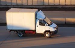 ruchów drogi ciężarówka zdjęcia royalty free