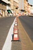 Ruchów drogowych dividers Zdjęcia Royalty Free