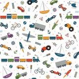 Ruchów drogowych elementów wzór Fotografia Royalty Free