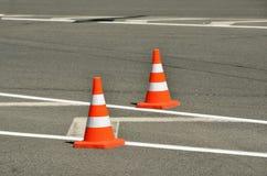 Ruchów drogowych rożki Zdjęcie Stock