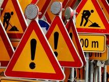 Ruchów drogowych znaki! Zdjęcia Stock