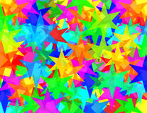 ruchów punków sześć gwiazd tekstura Zdjęcie Stock