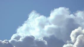 Ruch chmury lub dym zbiory wideo