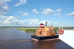 Ruch denni handlowi statki, holowniki i Beaumont, Teksas obrazy stock
