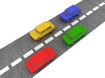 ruch drogowy ilustracja wektor
