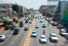 ruch drogowy obrazy royalty free