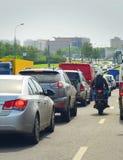 Ruch drogowy Zdjęcia Stock