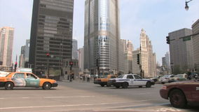 Ruch drogowy Chicago zbiory wideo