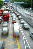 Ruch drogowy dżem Zdjęcia Stock