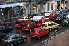 Ruch drogowy dżem Zdjęcie Stock