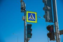 Ruch drogowy kamery bezpieczeństwa inwigilacja zdjęcie stock
