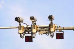Ruch drogowy kontroli kamery zdjęcia stock