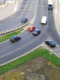 ruch drogowy miastowy Obrazy Royalty Free