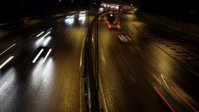 Ruch drogowy na autostradzie zdjęcie wideo