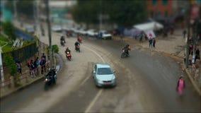 Ruch drogowy na ulicach w Kathmandu zdjęcie wideo