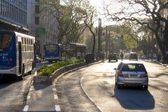 Ruch drogowy na ulicie Zdjęcie Stock