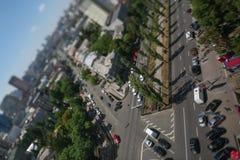 Ruch drogowy przez skrzyżowania zbiory