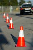 Ruch drogowy kontrola Obraz Stock