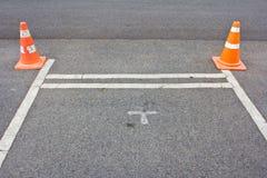 Ruch drogowy rożek Zdjęcie Stock