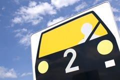 Ruch drogowy, samochód, pas bezpieczeństwa. Obraz Royalty Free