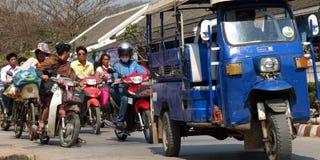 Ruch drogowy w Azja. Fotografia Royalty Free