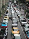 Ruch drogowy w Bangkok Zdjęcie Stock