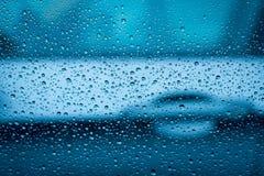 Ruch drogowy w deszczu Fotografia Royalty Free