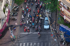 Ruch drogowy w Ho Chi Minh obraz royalty free