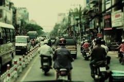 Ruch drogowy W Ho Chi Minh mieście Zdjęcie Royalty Free