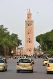 Ruch drogowy w Marrakesh, Maroko Obrazy Stock