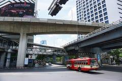 Ruch drogowy w mieście Zdjęcia Stock
