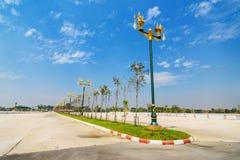 Ruch drogowy wyspa w Chiang mai, Tajlandia Fotografia Stock