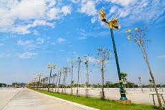 Ruch drogowy wyspa w Chiang mai, Tajlandia Zdjęcia Stock