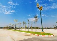 Ruch drogowy wyspa w Chiang mai, Tajlandia Obrazy Stock