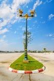 Ruch drogowy wyspa w Chiang mai, Tajlandia Obraz Royalty Free