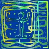Ruch energia ilustracja wektor