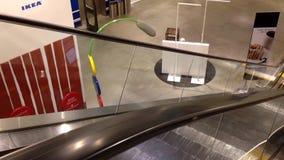 Ruch eskalator zdjęcie wideo