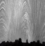 Ruch gwiazdy w niebie obrazy stock