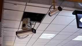 Ruch kamery bezpieczeństwa na suficie zbiory