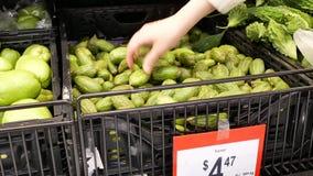 Ruch kupuje parwar inside Walmart sklep kobieta zbiory
