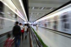 Ruch podróżnicy w lotnisku Obrazy Stock