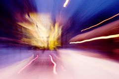 ruch samochodów street fotografia stock