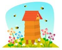 ruche illustration de vecteur