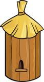 Ruche d'abeille illustration de vecteur