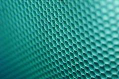 Ruche d'abeille en vert Photos libres de droits