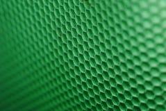 Ruche d'abeille en vert Images stock
