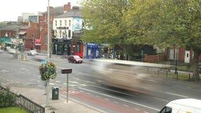 Ruchliwie ?ycie Niski w Dublin Drumcondra droga, Irlandia zdjęcie wideo
