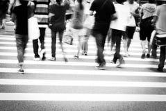 Ruchliwie ludzie Fotografia Royalty Free