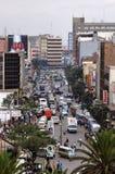 Ruchliwie miasto Niarobi Obrazy Royalty Free