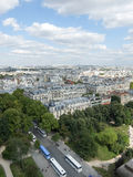 Ruchliwie Paryż kąta krajobraz Obrazy Royalty Free